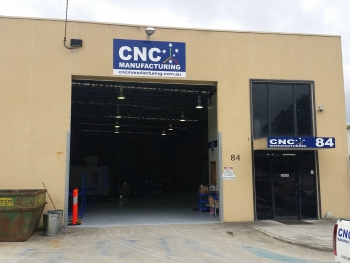 CNC Manufacturing New Location